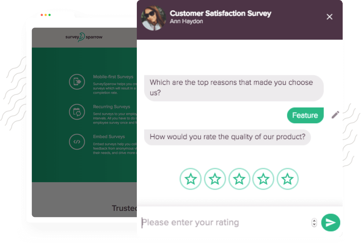 User Invoked Website Feedback Surveys