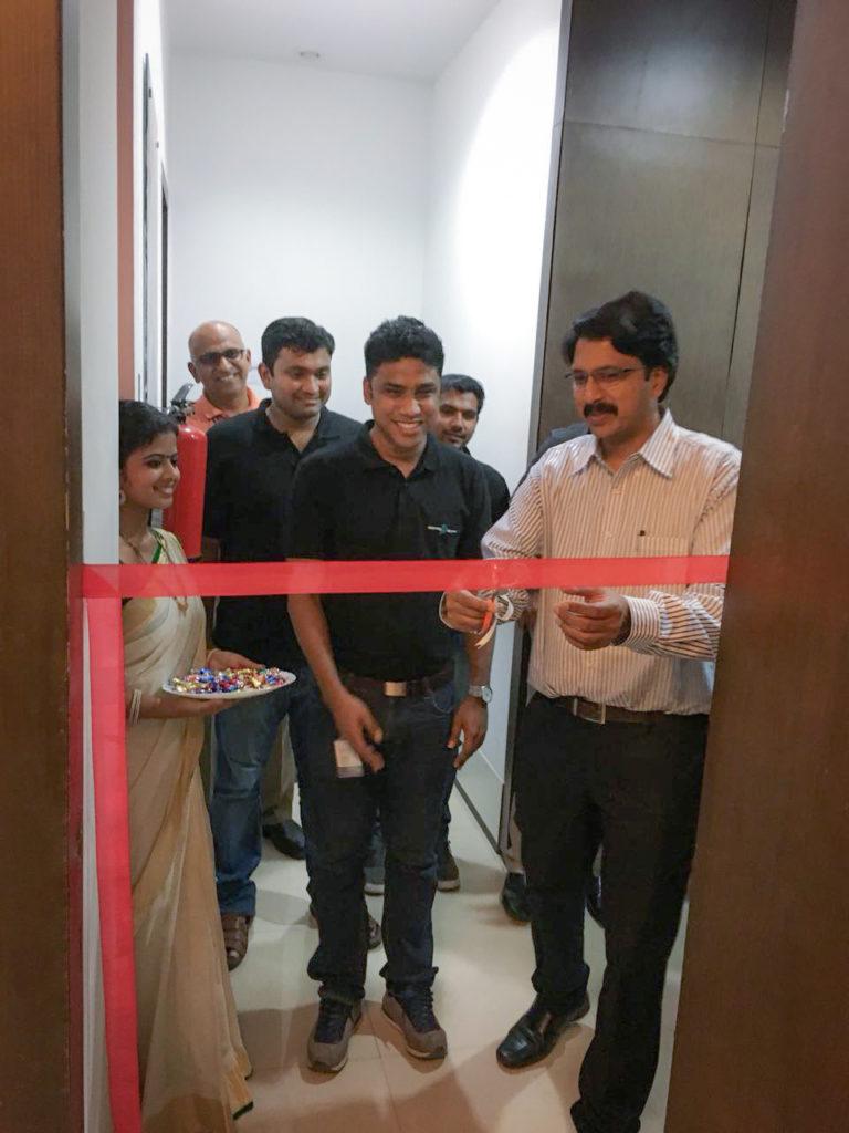SurveySparrow office inauguration by Infopark CEO, Hrishikesh Nair
