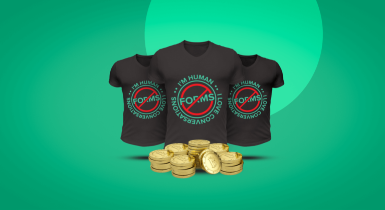 Noforms Bitcoin Giveaway SurveySparrow