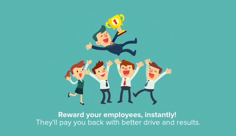 reward employees- instantly