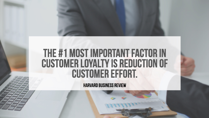 customer effort quote harvard business review
