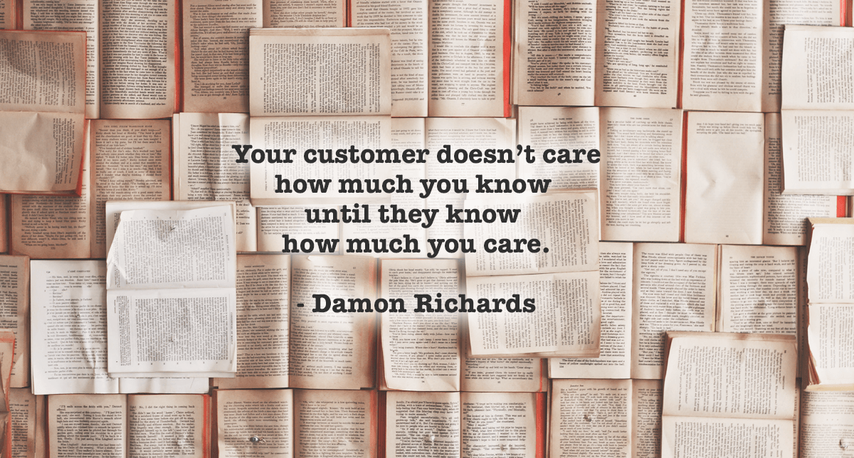 what customer cares about