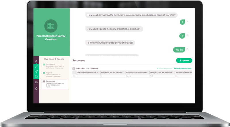 Qualtrics alternative surveysparrow autosaves your responses