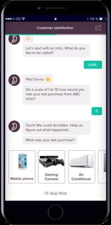 Qualtrics Alternative for conversational interface
