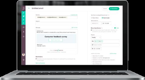 Recurring Survey feature of SurveySparrow