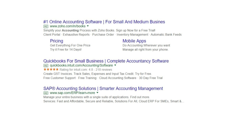 google ads to identify pain points