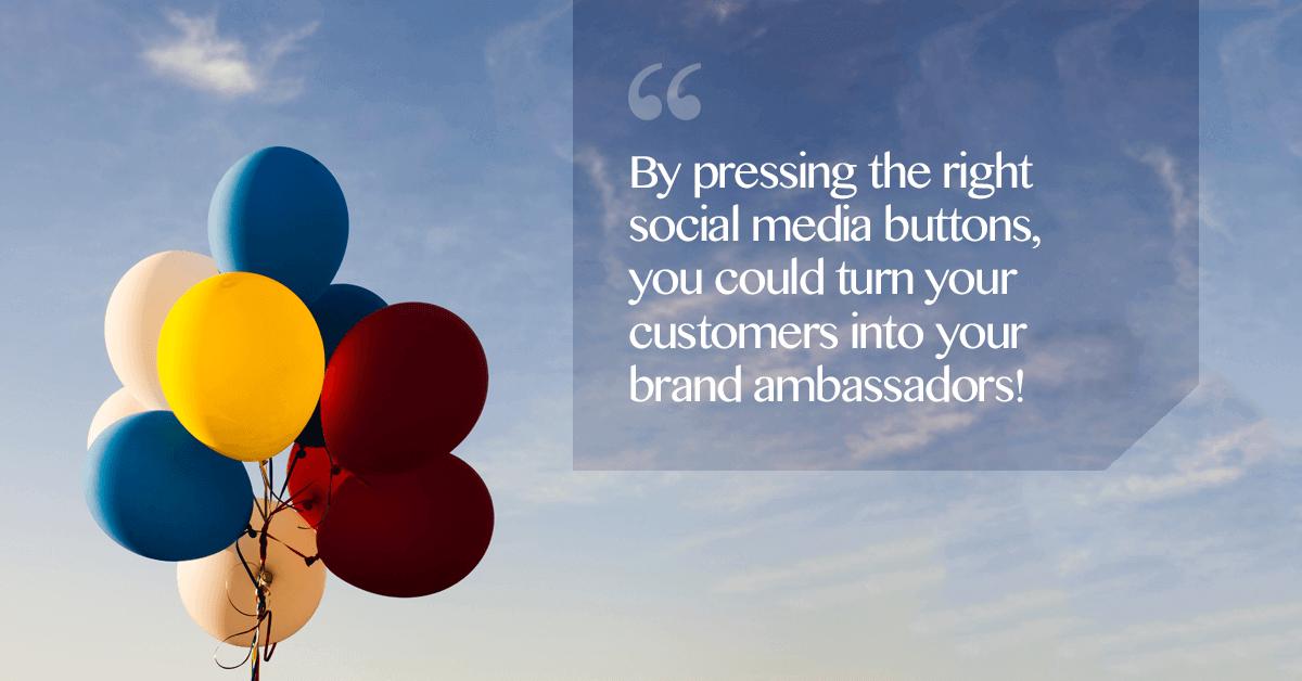 role of social media in customer loyalty programs