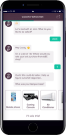 SurveySparrow's mobile-first online surveys come with a conversational experience, making it an ideal Google Forms alternative.