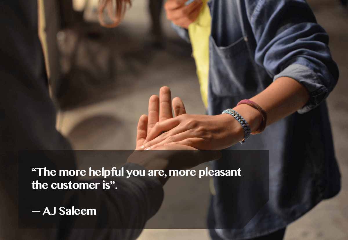 how to help your customers- quote