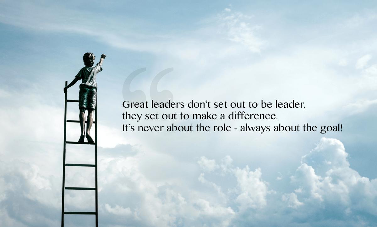 employee retention strategies- quote on true leaders