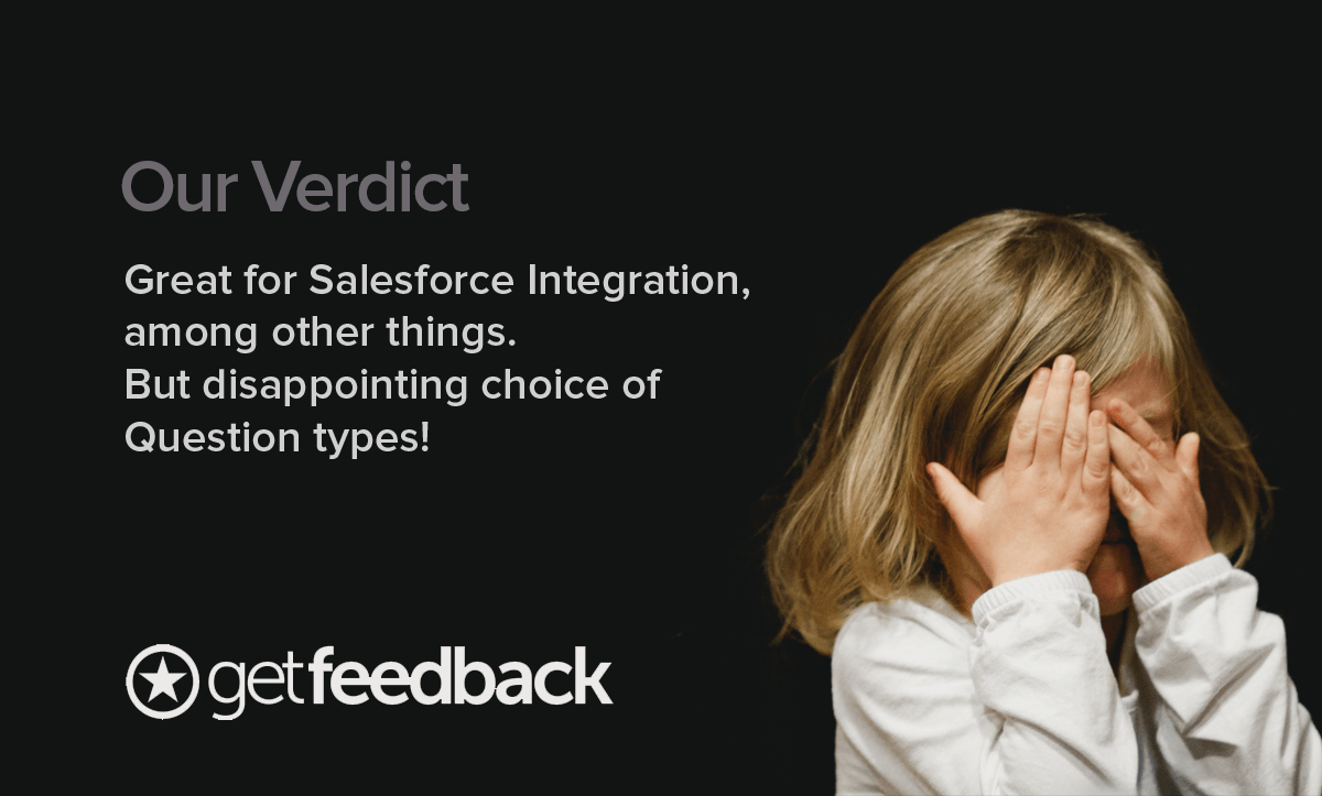 SurveyMonkey Alternatives- Our verdict on GetFeedback