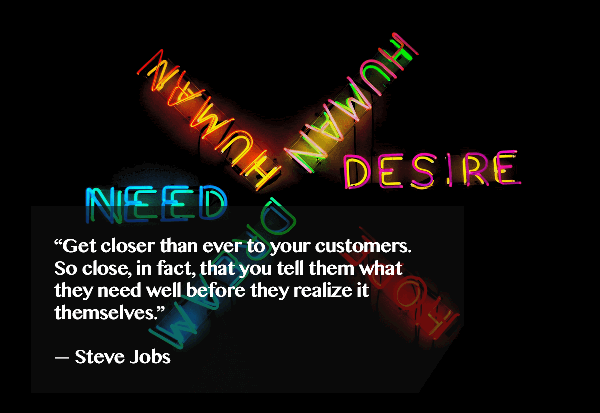 Steve Jobs on customer experience