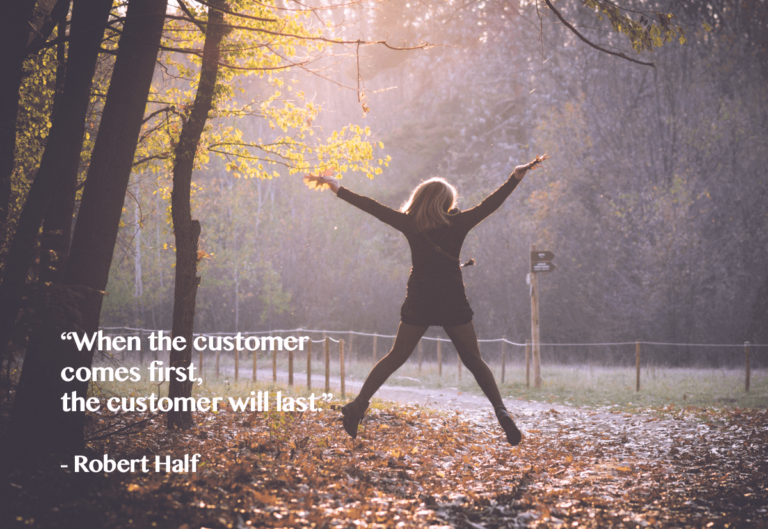 Customer Experience: When customer comes first, there customer shall last