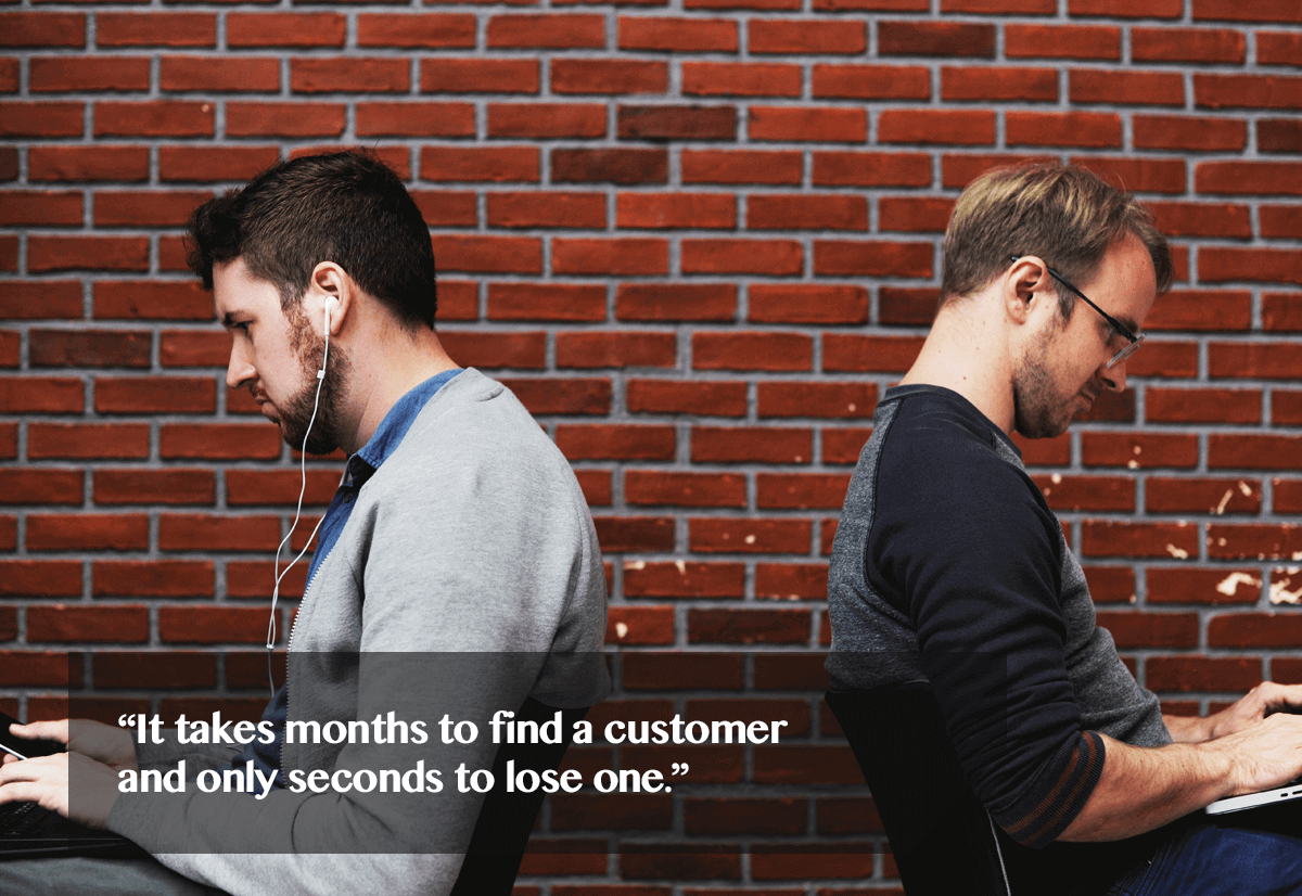 customer retention is not easy-quote