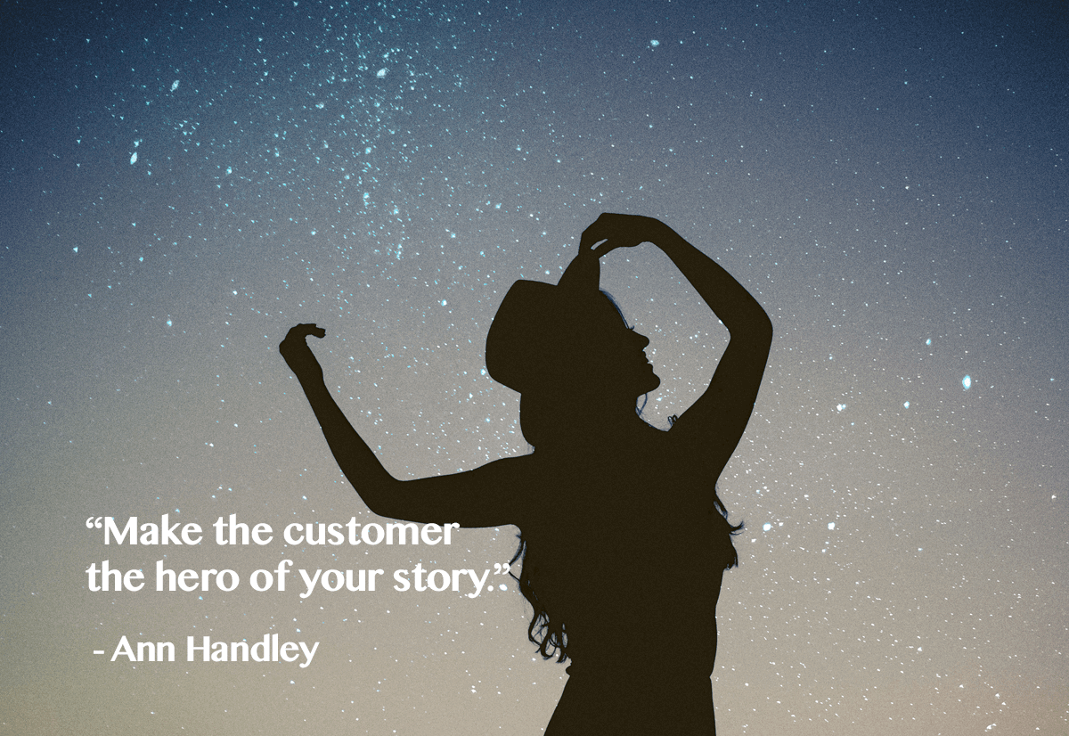 invest in customer experience- make customers your hero