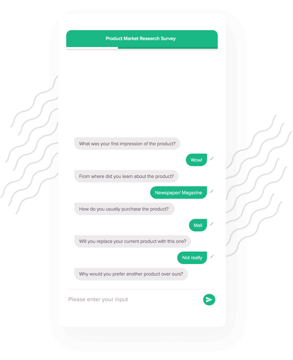 Conversational interface enables a true messaging experience