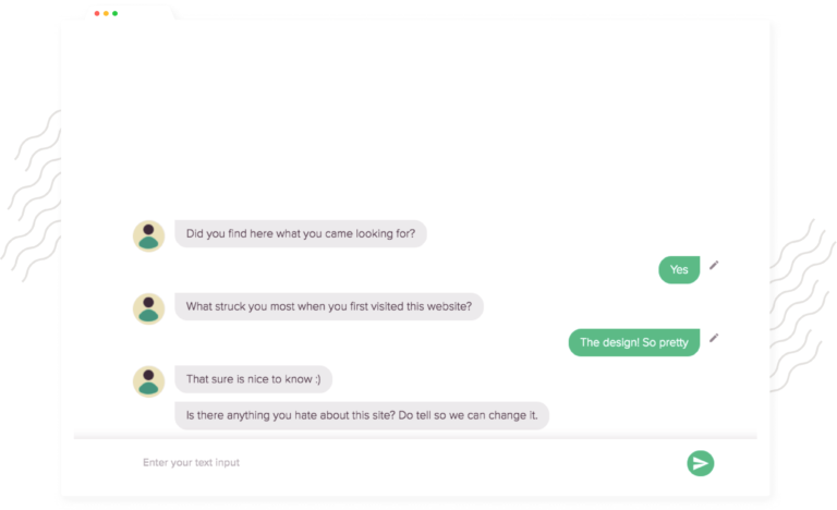 Create a chatbot with personalized messages and emoticons. Build a chatbot that's user-friendly.