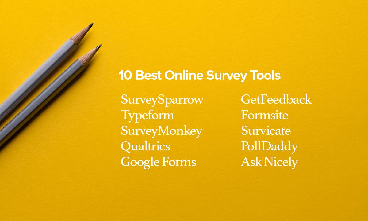 10 Best Online Survey Tools