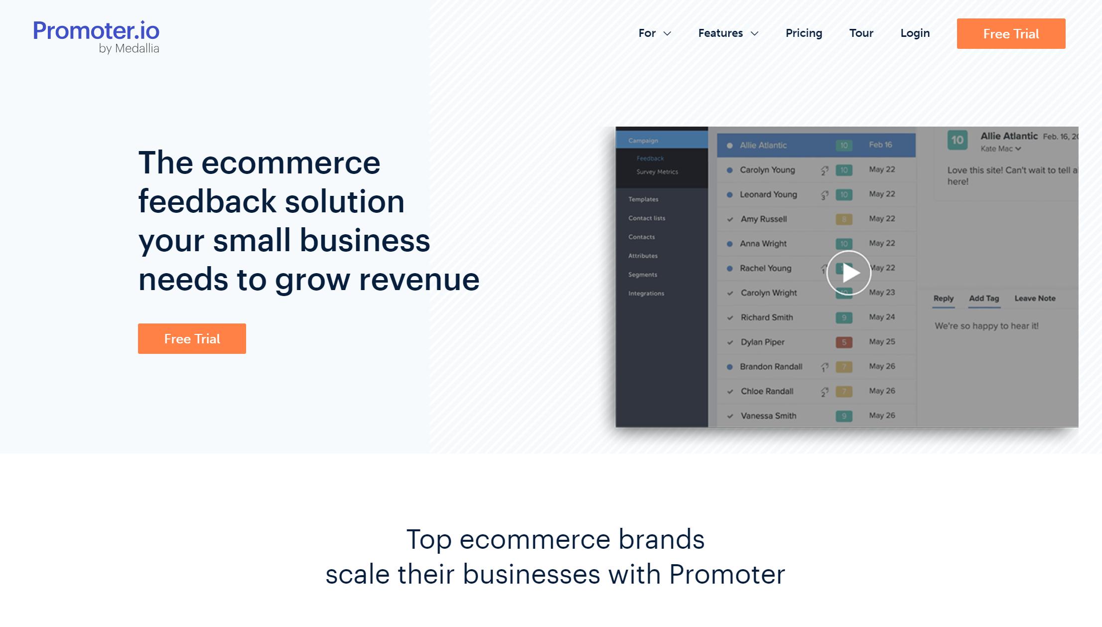 promoter NPS software