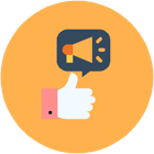 Share your 360 feedback surveys easily across various channels.