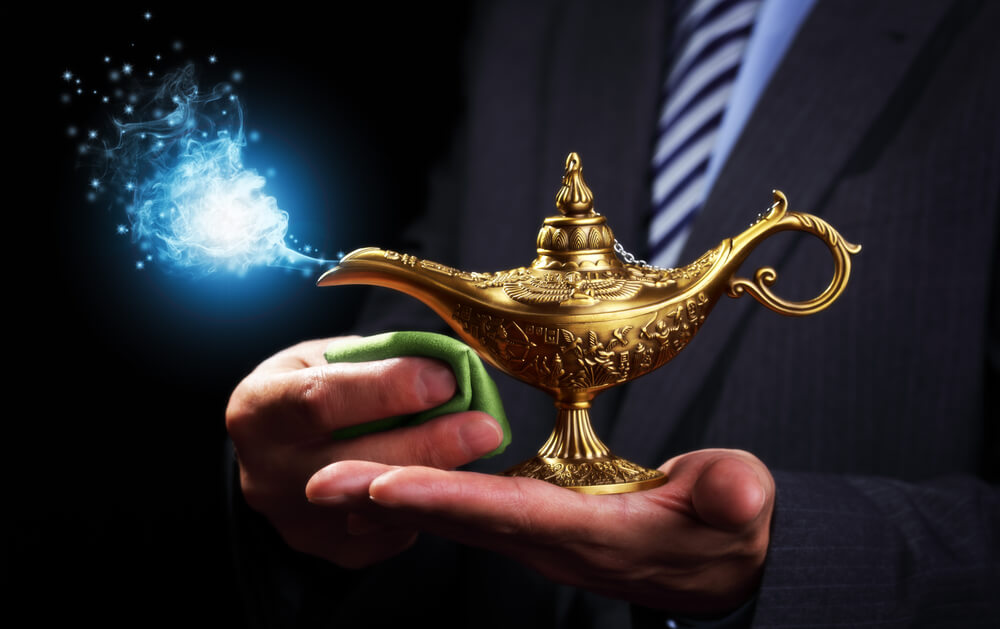 Getting the genie out of the lamp; All about customer data collection!