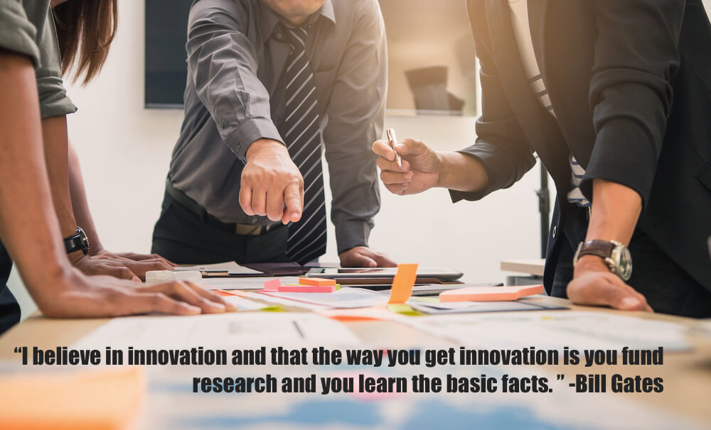 I believe in innovation and that the way you get innovation is you fund research and you learn the basic facts