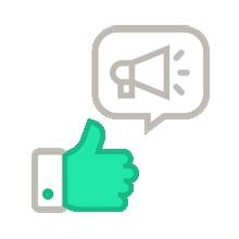 Spread your CSAT surveys via different channels.