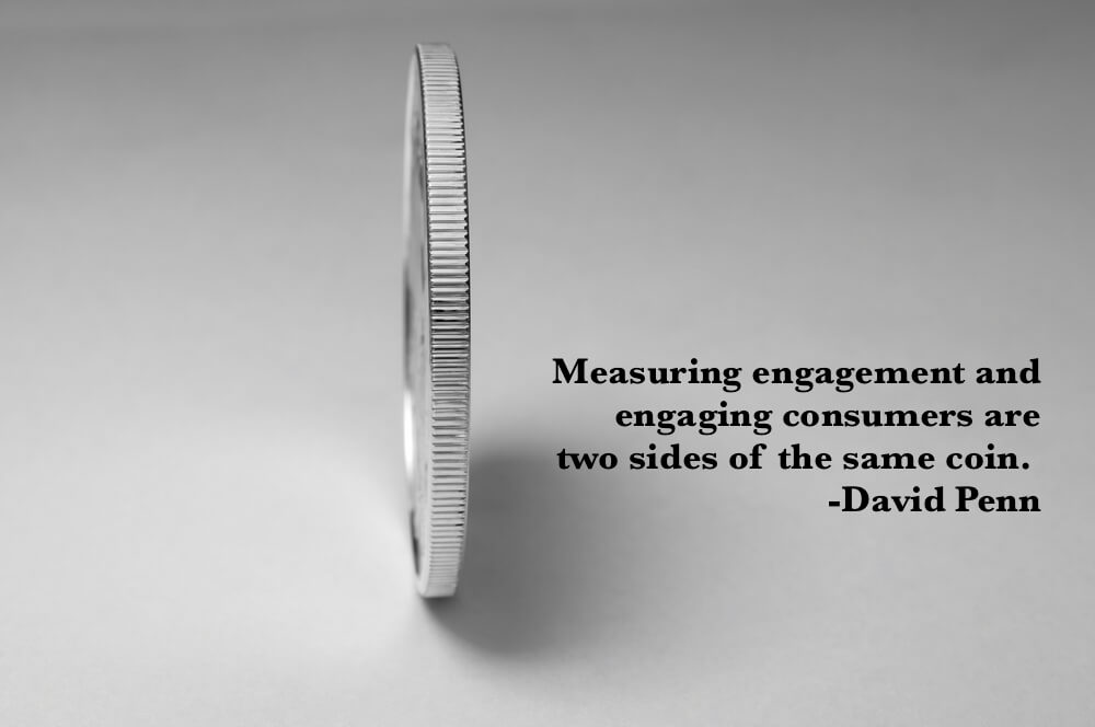 Measuring engagement and engaging consumers are two sides of the same coin