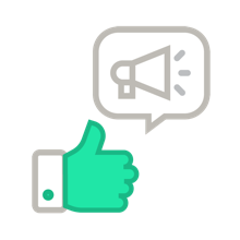 Share email surveys to your target audience using email survey tools.