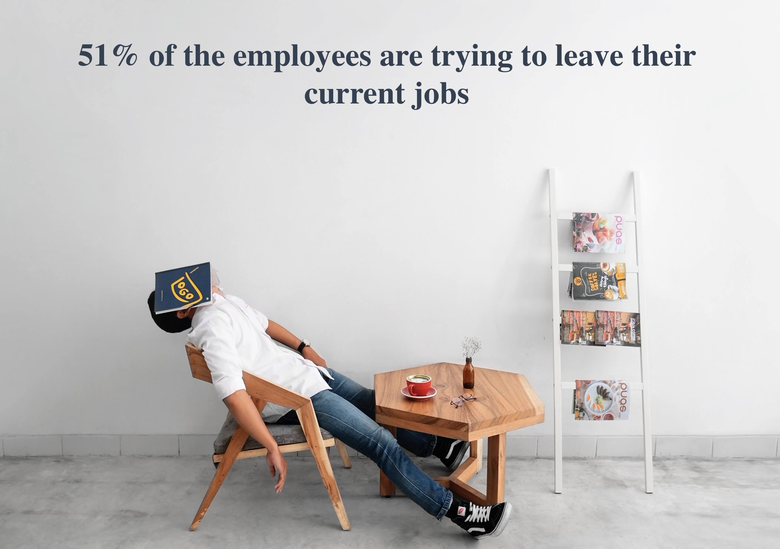 Knowing how to engage employees is critical considering 51% of them are trying to leave their current jobs.