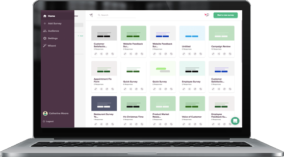 SurveySparrow is a Medallia Alternative that's an easy-to-use and a platform that you can use on your own.