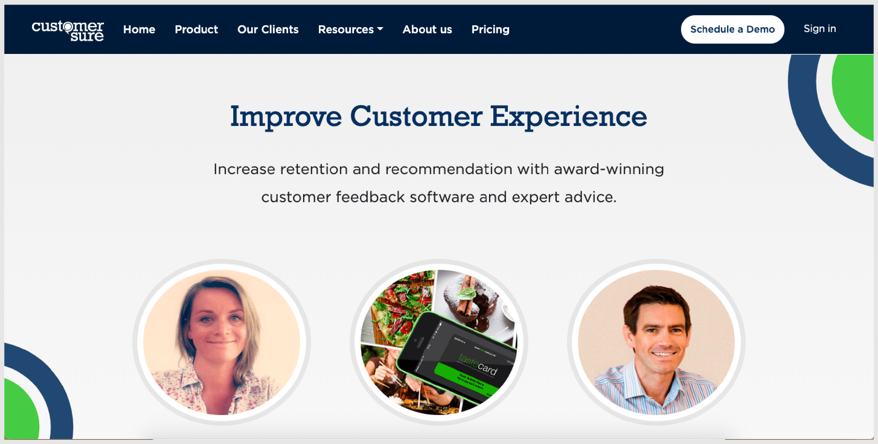 CustomerSure is a customer feedback & follow-up tool that aims to get businesses closer to their target customers.