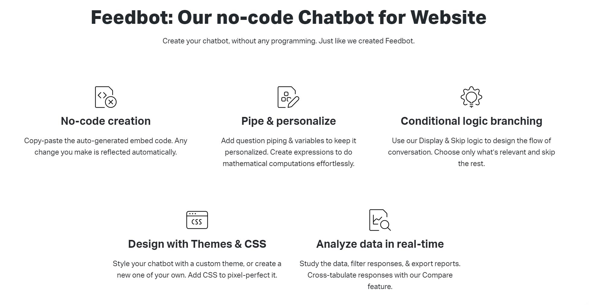 Chatbot SurveySparrow advantages
