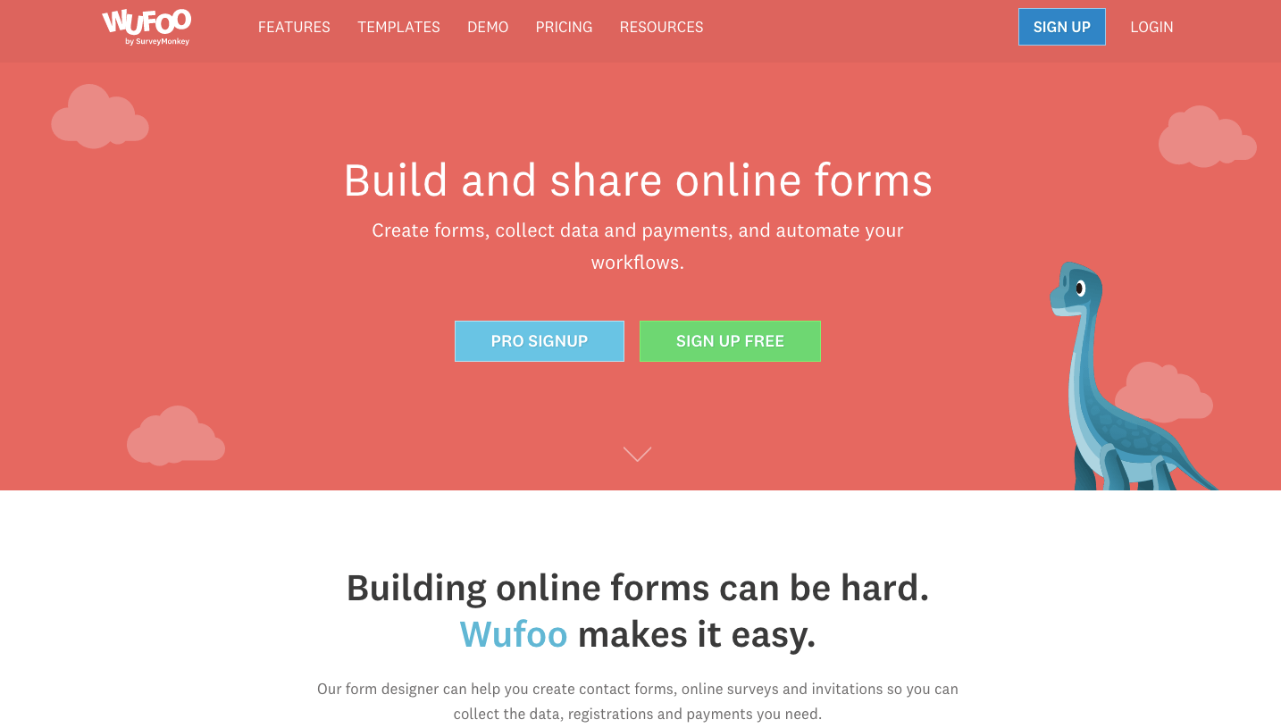 Employee Engagement Software #8: Wufoo