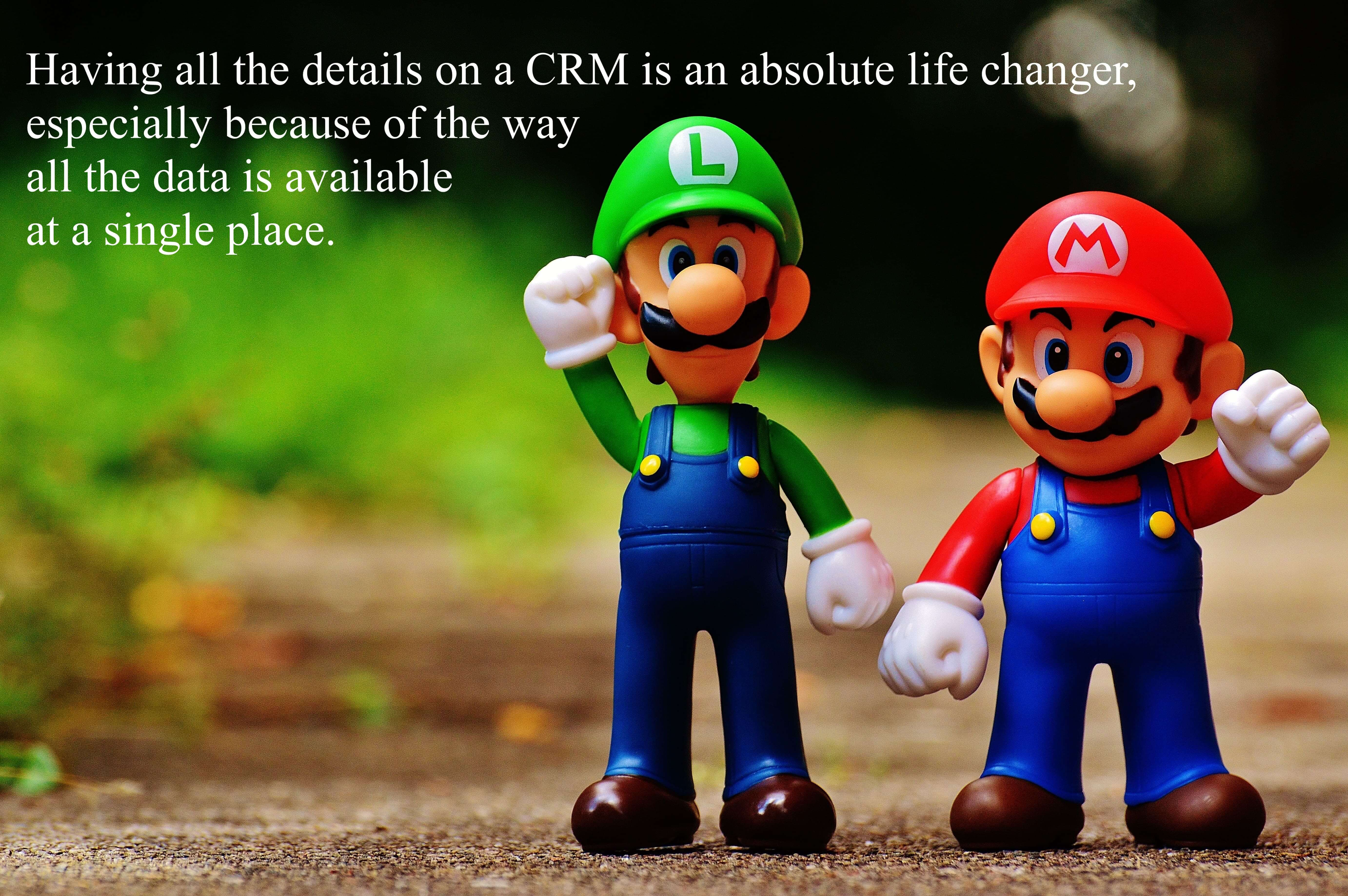 Having all the details on a CRM is an absolute life changer, especially because of the way all the data is available at a single place.