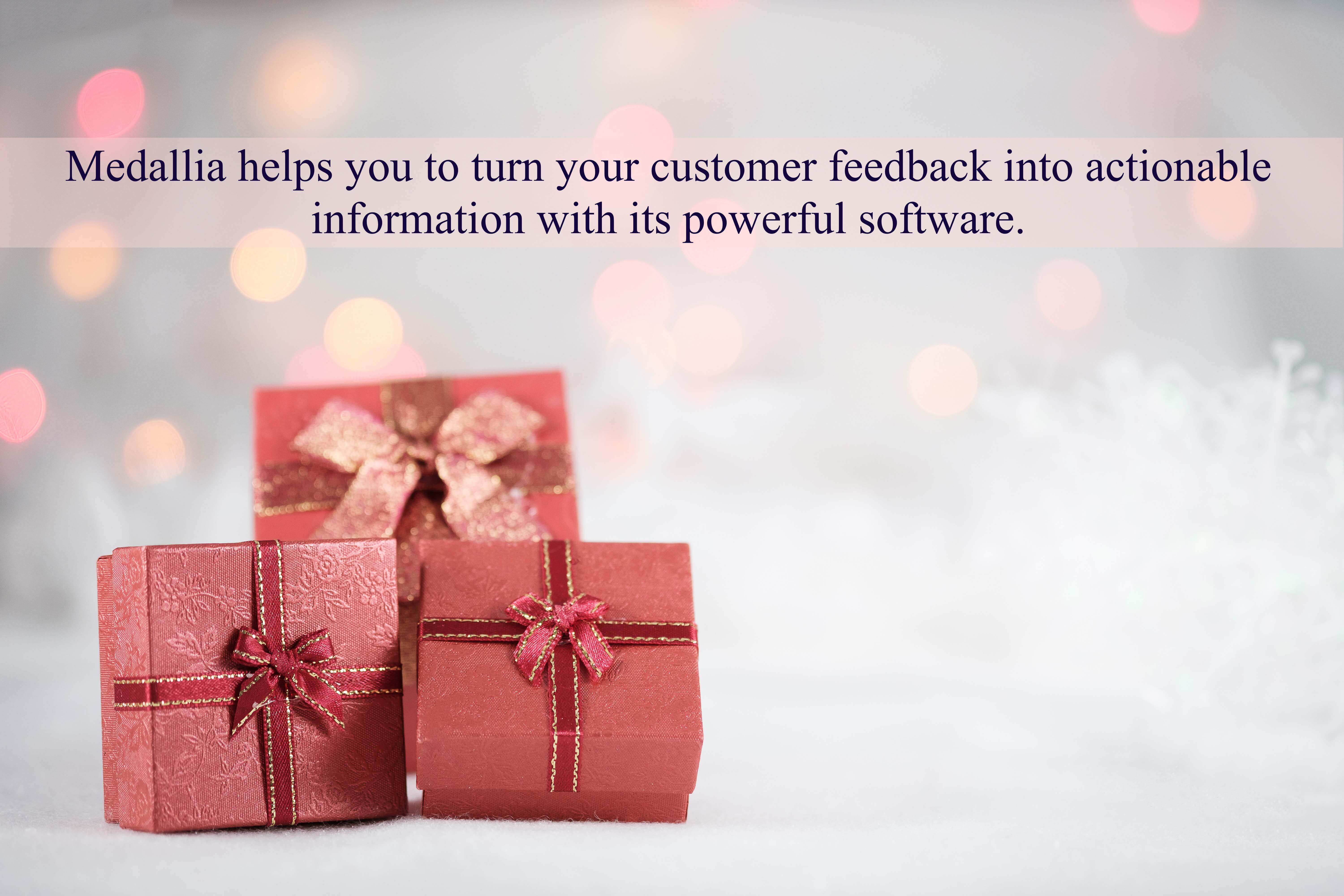 Medallia helps you to turn your customer feedback into actionable information with its powerful software.
