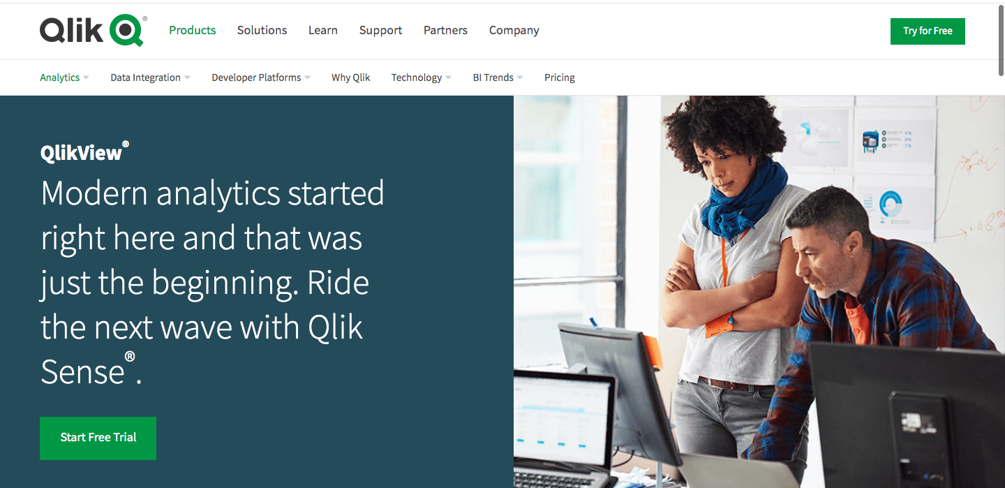 QlikView is a self-service business intelligence tool that helps drive insightful business solutions by helping the users to discover, analyze and visualize data.