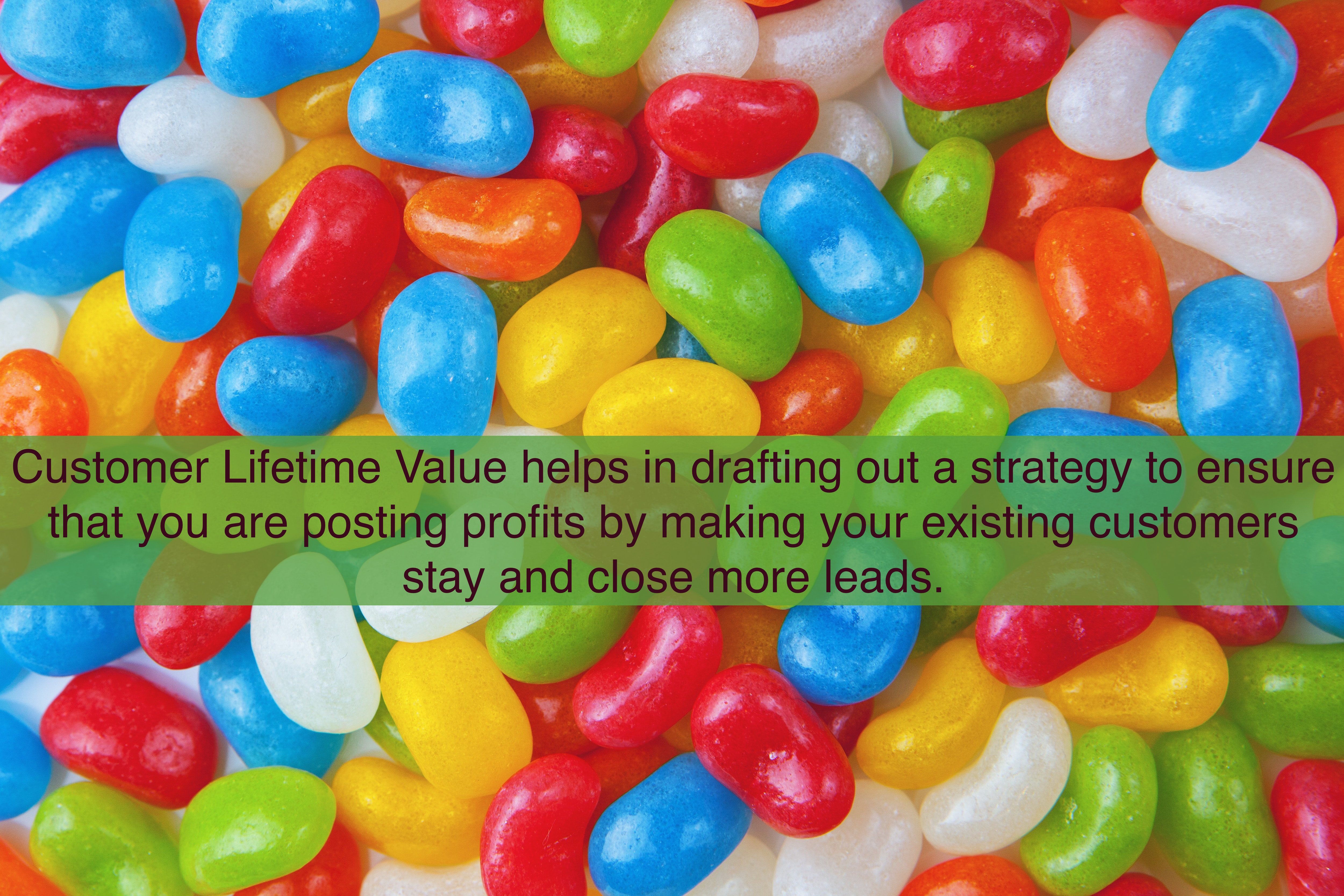 Customer Lifetime Value helps in drafting out a strategy to ensure that you are posting profits by making your existing customers stay and close more leads.