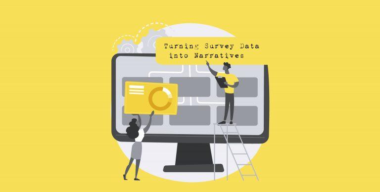 turning survey data into narratives