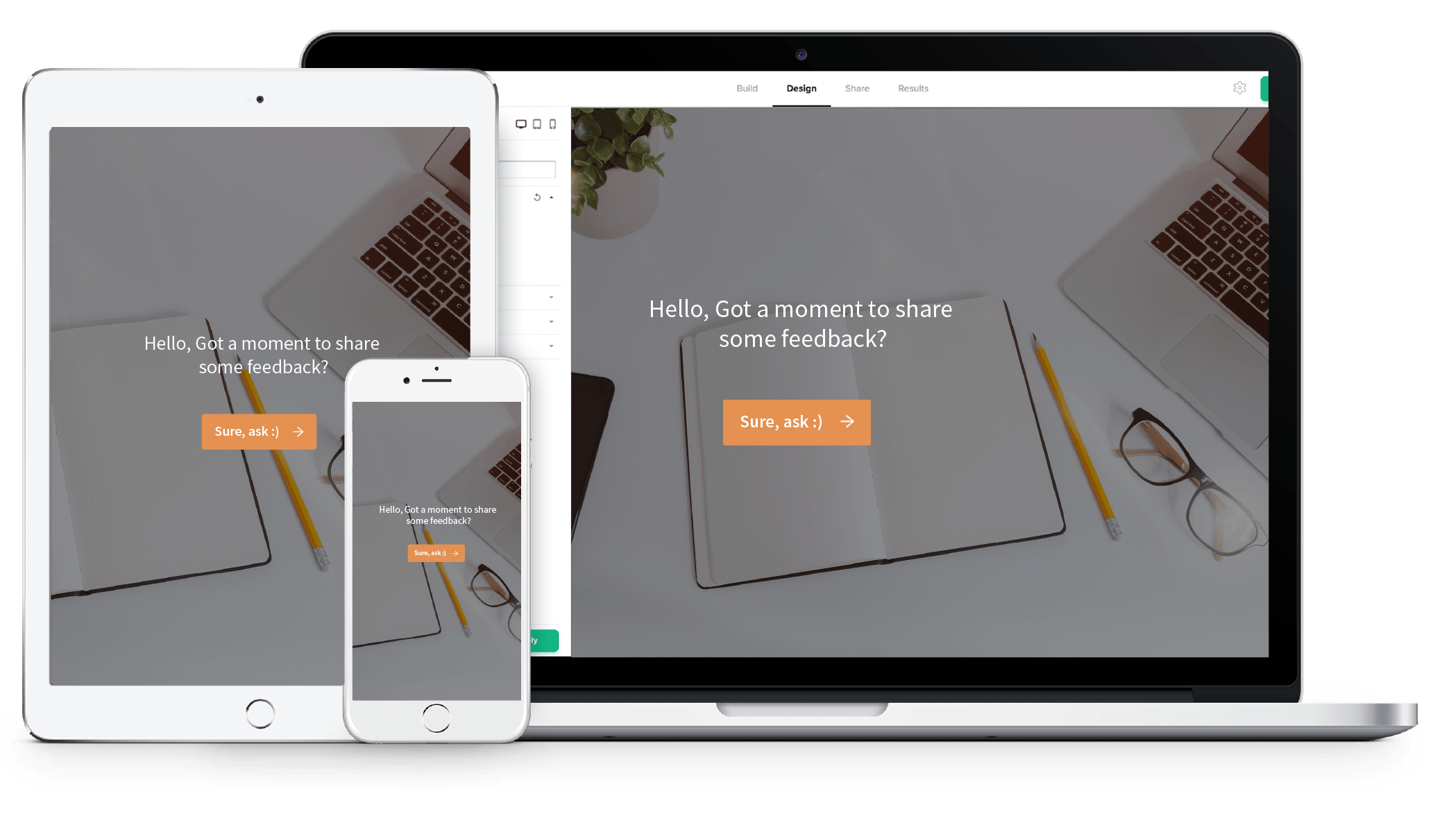 Build a constantly evolving educational environment with SurveySparrow's feedback collection platform.
