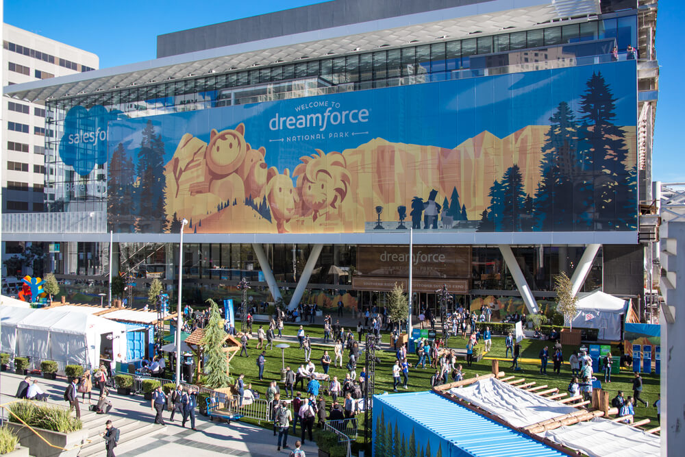 Dreamforce is one of the best annual tech-fest in the world.