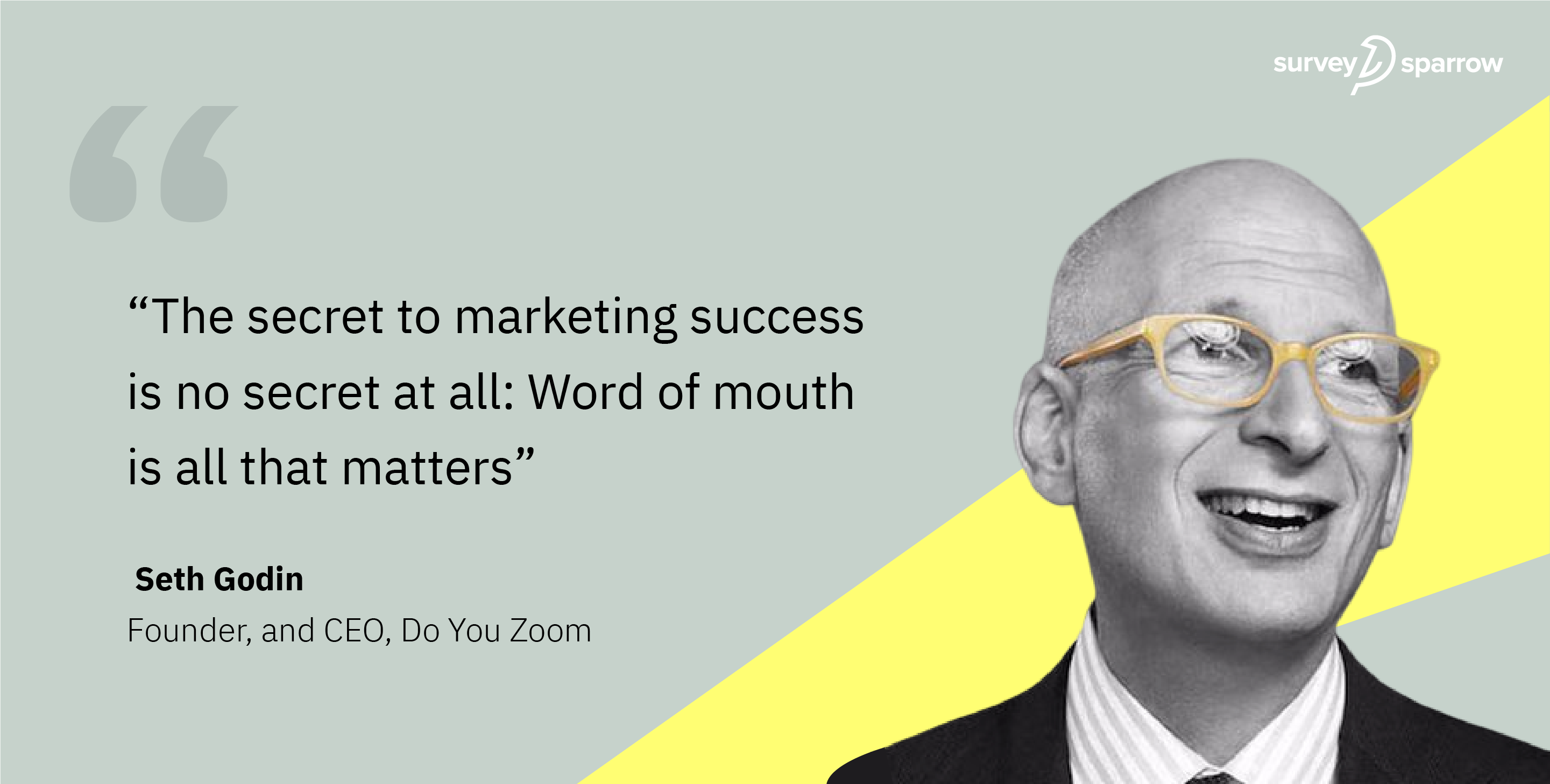 Marketing Quotes on Word of Mouth.
