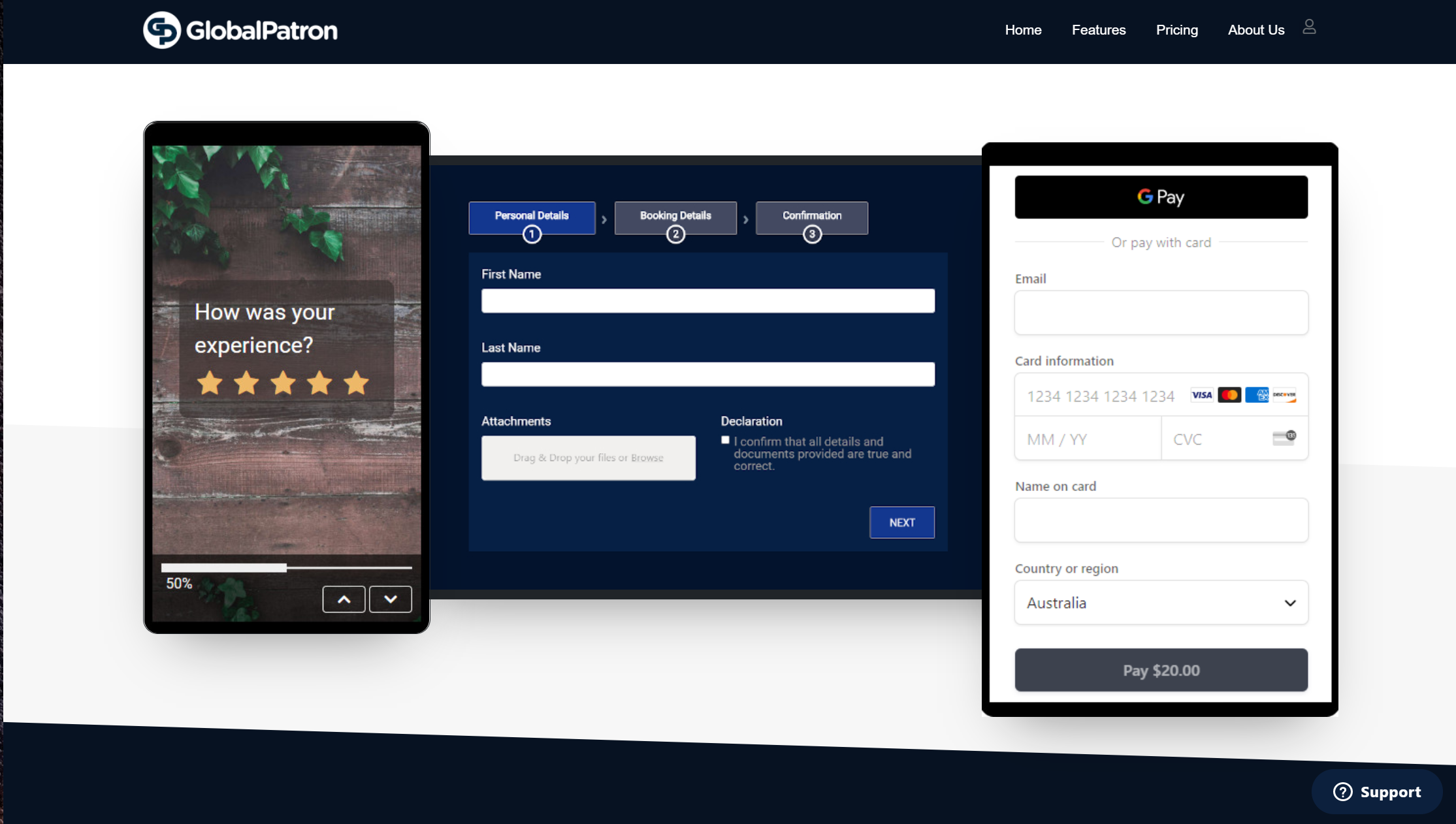 Form Builder App - GlobalPatron.