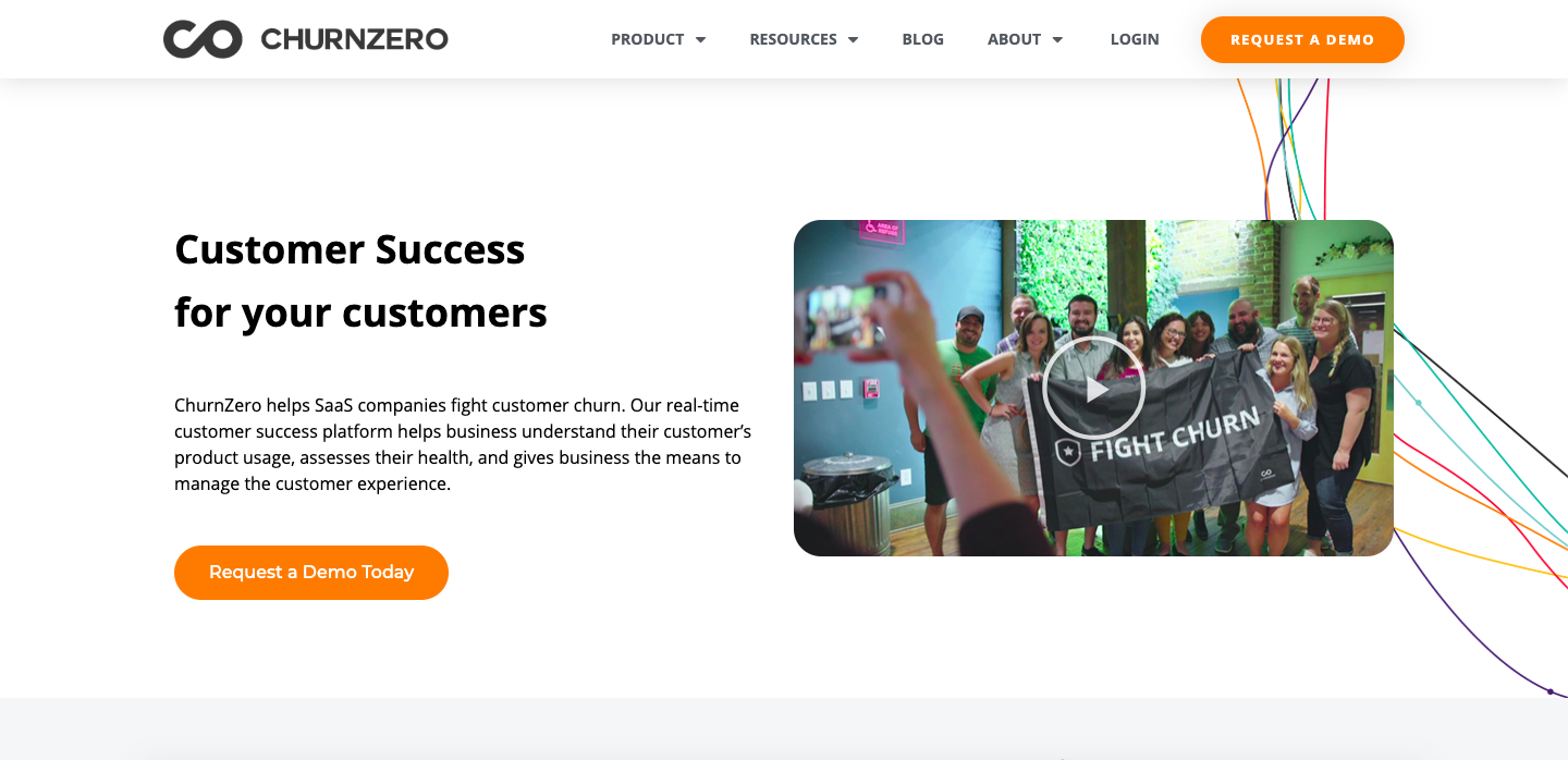 ChurnZero is designed to integrate with CRM systems making the workflow so much effortless and faster.