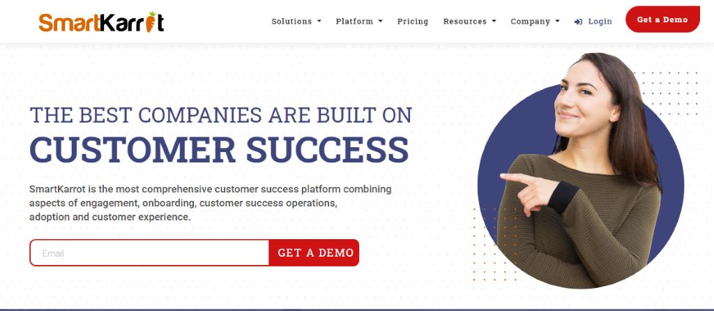 Customer Success Software - SmartKarrot.