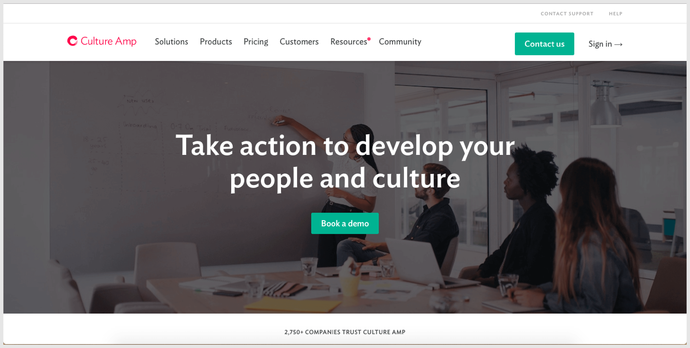 CultureAmp - A popular performance management tool.