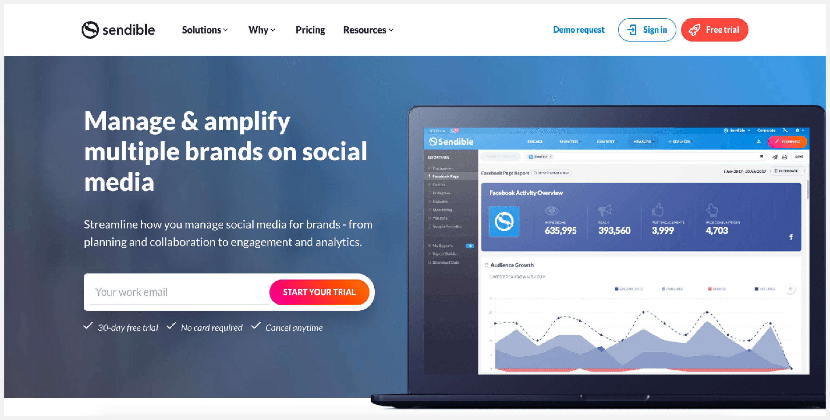 Sendible is a social media management software specially designed for SMEs with quite a large clientele.