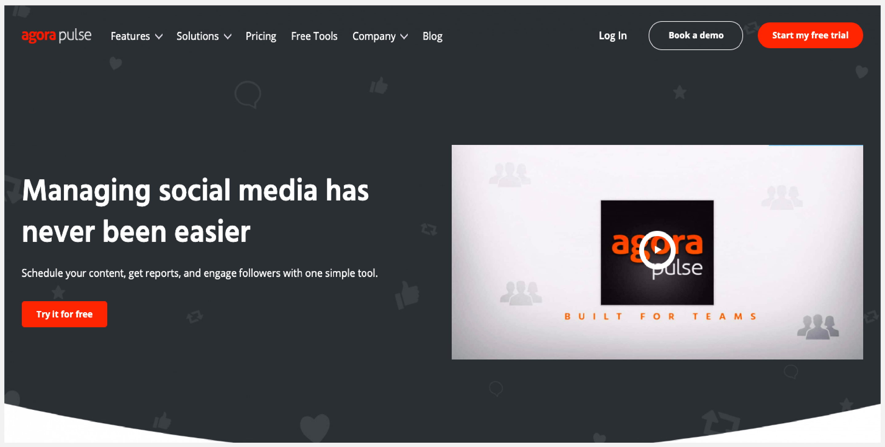 AgoraPulse definitely makes for a good social media management platform owing to its decent list of features, affordable price and responsive customer service team.