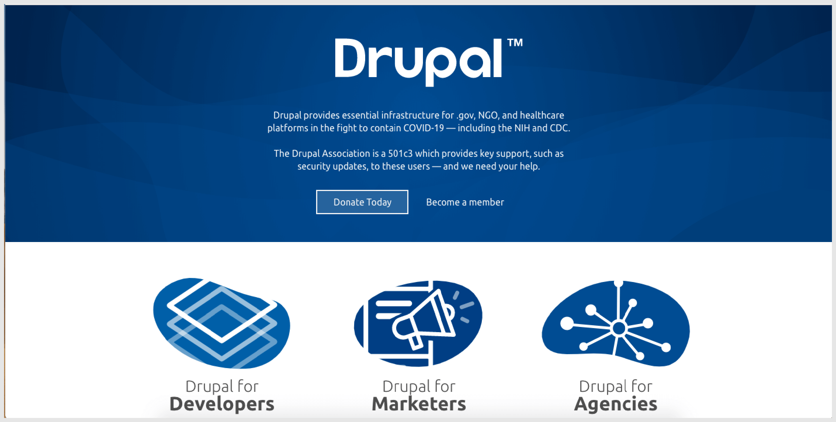 Drupal is clearly one of the best content management tools that the market offers.