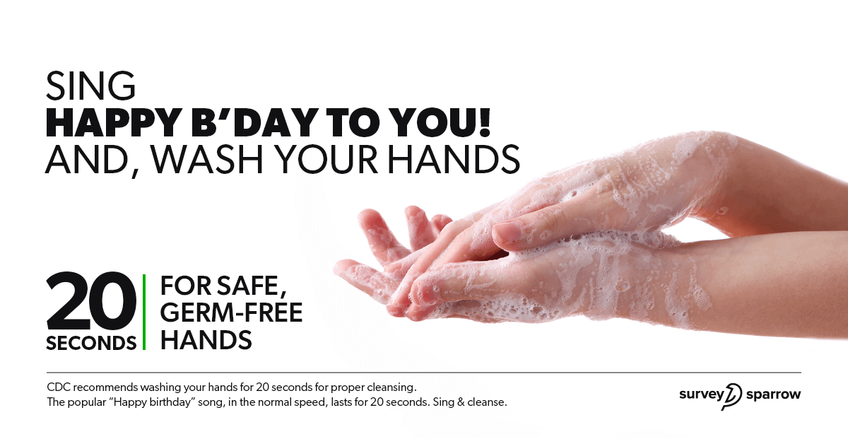 Wash your hands properly and often using soap and water.